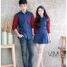 MT'COUPLE - Kemeja Couple Dress TOMIKO | Busana Pasangan | Baju Pasangan | Kemeja Pasangan | Kemeja