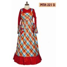 MTA 221 2-12 tahun grosir baju anak muslim gamis murah