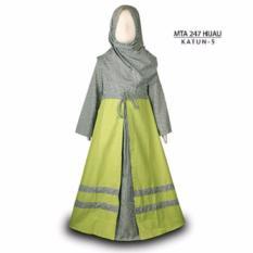 MTA 247 2-12 tahun grosir baju anak muslim gamis murah