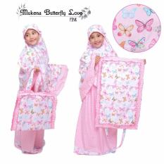 Beli Barang Mukena Anak Butterfly Love Pink Online