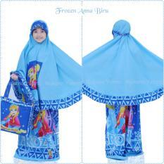Jual Mukena Anak Karakter Frozen Anna Biru Size Xxl Indonesia