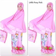 Spesifikasi Mukena Anak Litel Poni Pink Terbaru