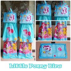 Mukena Anak Little Pony Biru 02