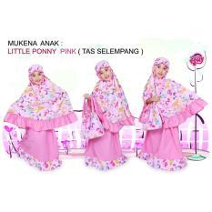 Mukena Anak Muslimah Little Pony Pink Lucu