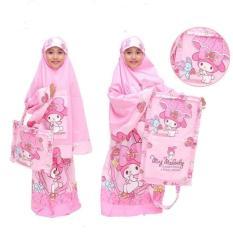 Mukena Anak My Heart Pink Lucu