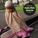 Spesifikasi Mukena Anak Premium Aqila Kids Mocca Yang Bagus