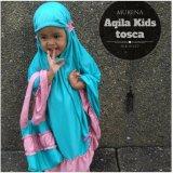 Harga Mukena Anak Premium Aqila Kids Tosca Mukena Telekung Asli
