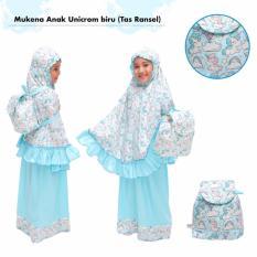 Toko Mukena Anak Unicorm Biru Tas Ransel Terlengkap Jawa Barat
