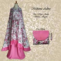 Mukena Bali Adiva Rayon Janger Super Jumbo - Pink
