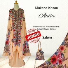 Mukena Bali Cantik Model Terbaru KriSula Warna Salem