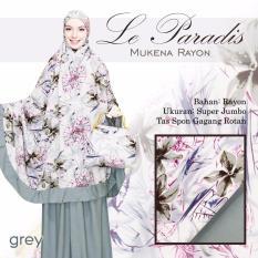 Mukena Bali Cantik Untuk Hantaran Nikah Lparad Berkelas Warna Grey Abu
