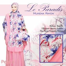 Mukena Bali Cantik Untuk Hantaran Nikah Lparad Berkelas Warna Peach