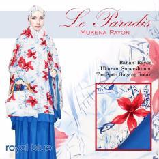 Mukena Bali Cantik Untuk Hantaran Nikah Lparad Berkelas Warna Royal Biru Blue