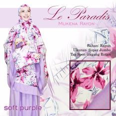Mukena Bali Cantik Untuk Hantaran Nikah Lparad Berkelas Warna Soft Ungu Purple