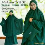 Jual Mukena Bali Indah Super Jumbo Polos Premium Hijau 1 Ori