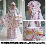 Jual Mukena Bali Premium Elegan Dahlia Cokmuda Grosir