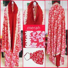 Spek Mukena Bali Ria Ricis Merah G 575 Multi