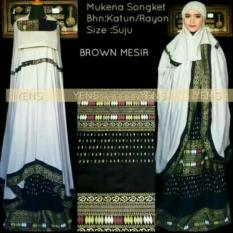 Mukena Bali Songket Prada