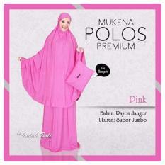 Mukena Bali Super Jumbo POLOS - Pink