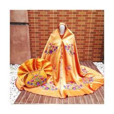 Mukena Behel Maroko Cantik Berkualitas Orange