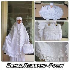 MUKENA BEHEL RABBANI (PUTIH BERSIH)