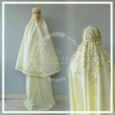 Beli Mukena Bordir Handmade Babby Silk Mukena Mukena Murah Secara Angsuran