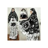 Harga Hemat Mukena Dewasa Muslimah Trendy Katun Jepang Bunga