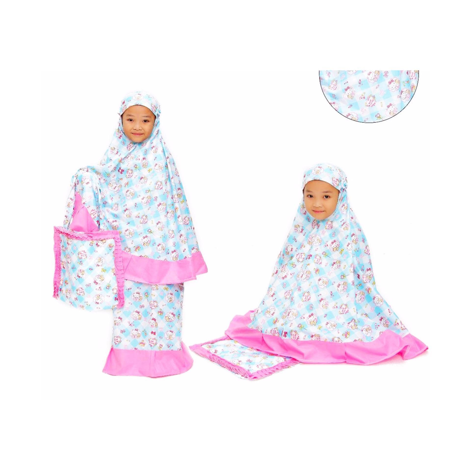 Harga preferensial Mukena HK Candy Pastel Cantik Pink beli sekarang - Hanya Rp135.900