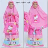 Harga Mukena Hk Rainbow Dash Caracter Pink Murah