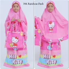 Promo Mukena Hk Rainbow Dash Caracter Pink Di Jawa Barat