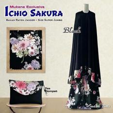 Mukena Ichio Sakura - Black