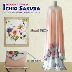 Mukena Ichio Sakura - Peach White