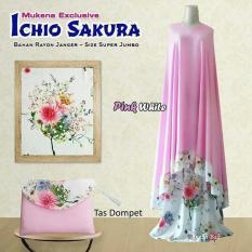 Mukena Ichio Sakura - Pink White