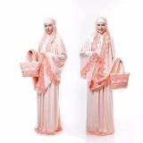 Cuci Gudang Mukena Jersey Arafah Iii Peach