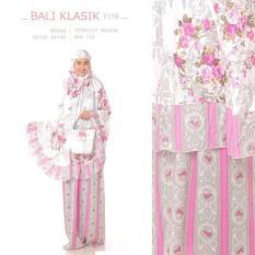 Mukena Katun Bali Klasik Shubby Chics Motif Bunga Cantik