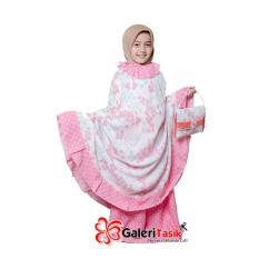 Mukena Ponco Anak Melinda - Pink