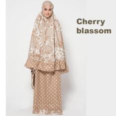 Beli Mukena Katun Jepang Cherry Blassom Premium Milo Kredit