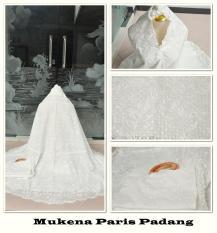 MUKENA KATUN PARIS PADANG PUTIH TULANG  BROKEN WHITE