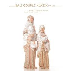Mukena Pasangan / Couple Katun Adem Ibu Dan Anak Warna Coklat