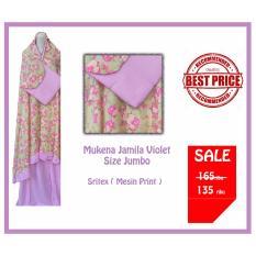 Mukena Rayon Jamila Size Jumbo Violet Promo Beli 1 Gratis 1