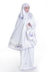 Spesifikasi Mukena Sutra Dove Rose Tabung Ungu