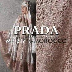 Jual Beli Mukena Sutra Paris Prada Cantiq Original Putih Baru Jawa Barat