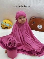 Harga Mukena Telekung Anak Balita 1 2Tahun Ciobela Pink Darma Paling Murah