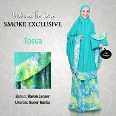 Mukena Tie Dye Smoke Bawah Exclusive Tosca