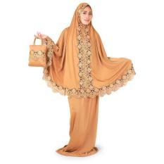 Mukena Untuk Shalat wanita Salehah Java 7-Mocca