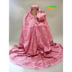 Jual Mukenah Parasut Loufie Dusty Pink Loufie Branded
