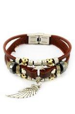 Review Tentang Mulba Sl391 Beads Gelang Kulit Cokelat