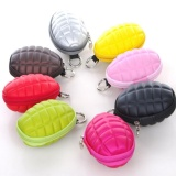 Toko Multi Function Hand Grenades Shape Men Women Coin Wallet Key Purse Zipper Bag Cool Black Intl Lengkap Di Tiongkok