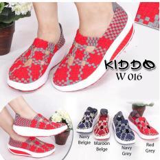 Multi - Sepatu Wanita Anyaman Rajut Lulia Kiddo 016 Wedges