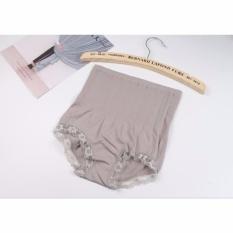 Munafie Slim Pant Celana Korset 75 Gram Grade A (All Size ) - Abu-abu